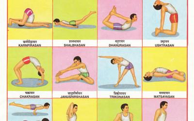 Yogasan Chart