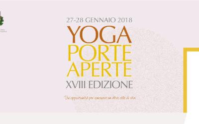 Yoga Porte Aperte 2018